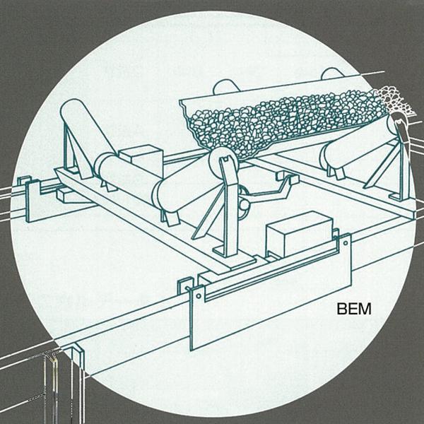 ベルトコンベヤ用計量機 マルチベルト